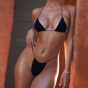 NEW💙Black Simple Triangle Bikini 🕶🕶